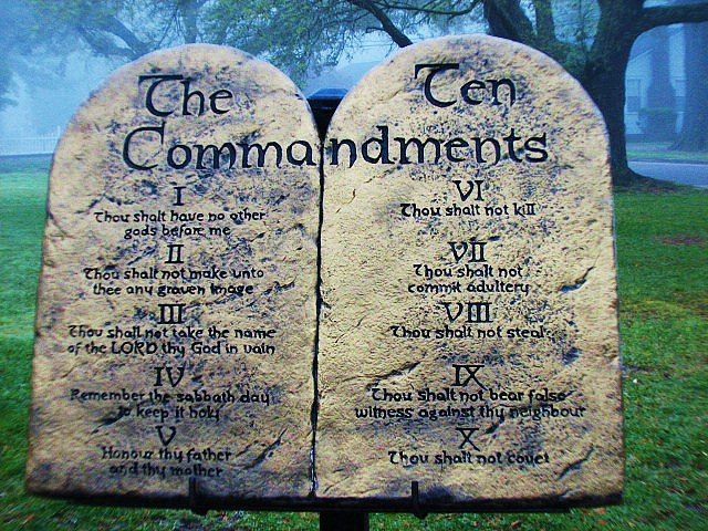 Ten Commandments of Wholeness
