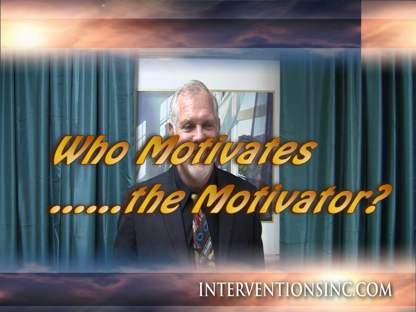 Who Motivates the Motivator?